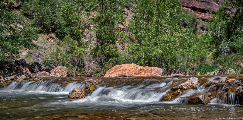 The Flowing Stream At Zion