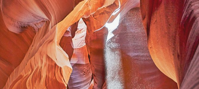 VISUAL MAGIC IN ARIZONA'S SLOT CANYONS