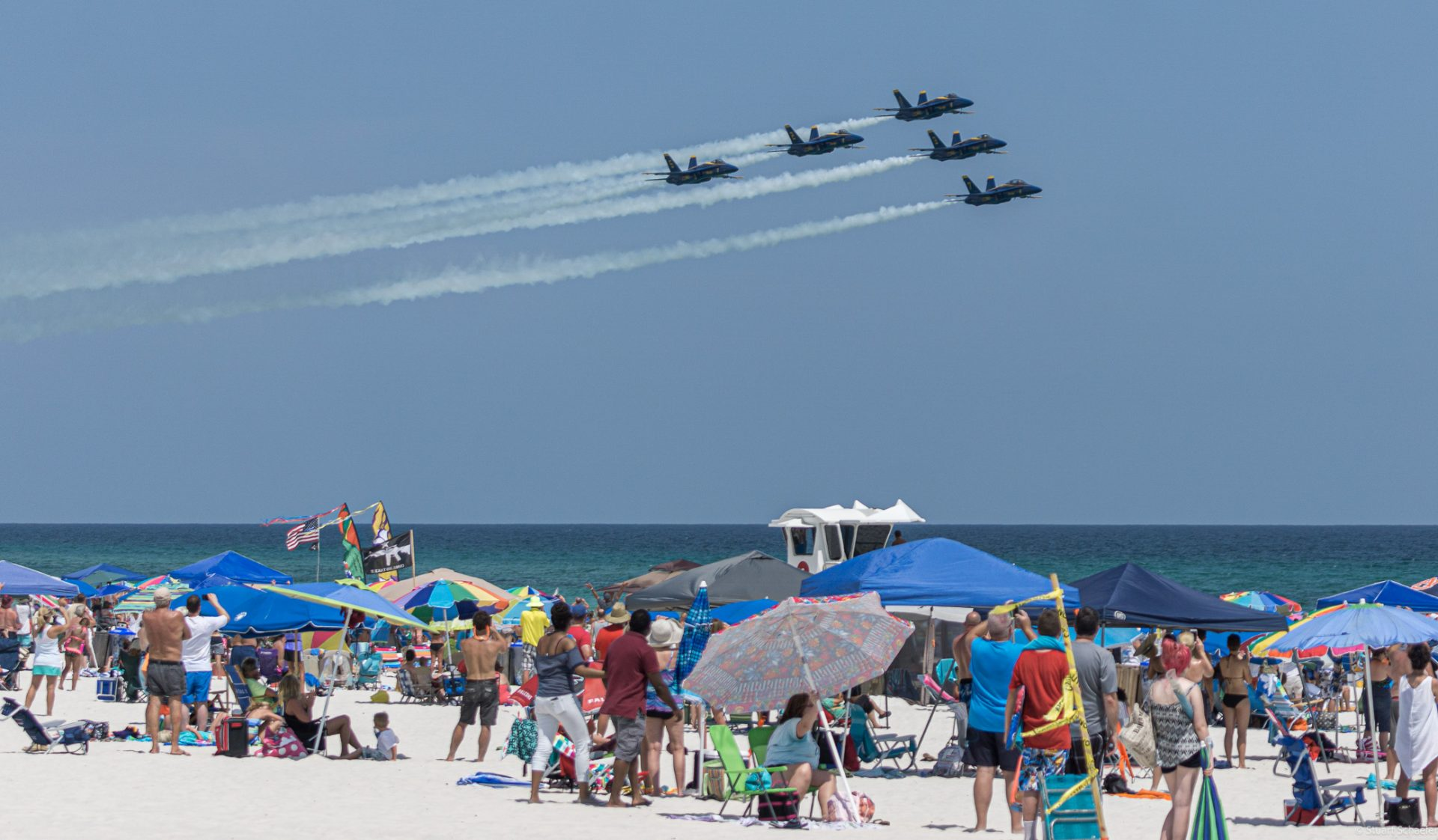 Pensacola Beach Blue Angels Beach Show July 7-10, 2021 ...